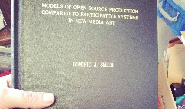 MODELS OF OPEN SOURCE PRODUCTION COMPARED TO PARTICIPATIVE SYSTEMS IN NEW MEDIA ART